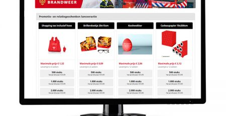 The Netherlands Fire Service cooperates with RGN on promotional gifts